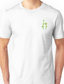 Beer Belly Mens Room Small Logo Green-White-Red-Plaid  Unisex T-Shirt