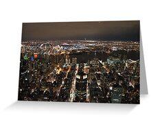 New York. Greeting Card