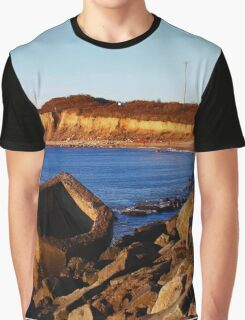 Morning At The End Of Island | Montauk Point, New York  Graphic T-Shirt