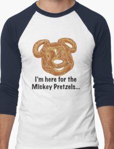Mickey Pretzel Men's Baseball ¾ T-Shirt