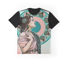 Lady Peahen Graphic T-Shirt
