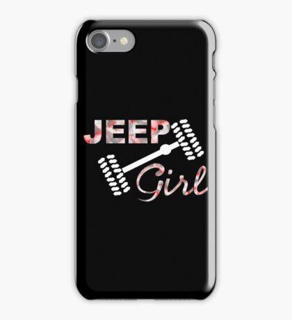 Jeep Girl Camo iPhone Case/Skin