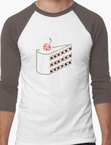 Cake (honest!) Men's Baseball ¾ T-Shirt