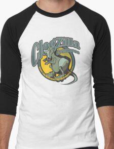 ClogZilla Creatures Men's Baseball ¾ T-Shirt