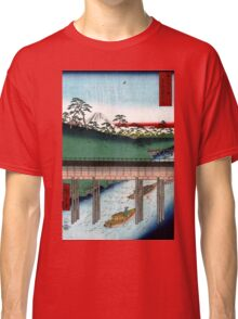 Utagawa Hiroshige Ochanomizu Classic T-Shirt