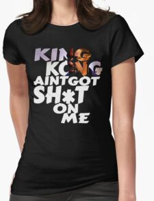 King Kong Training Day Womens Fitted T-Shirt