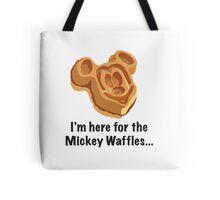 Mickey Waffle Tote Bag
