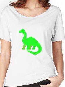 Green Dino Women's Relaxed Fit T-Shirt