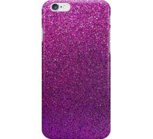 Purple Glitter Sparkle Texture Paper iPhone Case/Skin