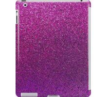 Purple Glitter Sparkle Texture Paper iPad Case/Skin