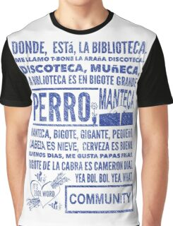 La Biblioteca Rap - Community Graphic T-Shirt