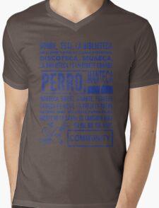 La Biblioteca Rap - Community Mens V-Neck T-Shirt