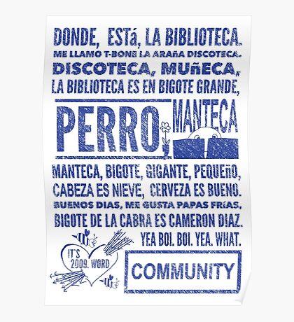 La Biblioteca Rap - Community Poster