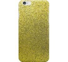 Gold Glitter Sparkle Shiny Gilttery Paper iPhone Case/Skin