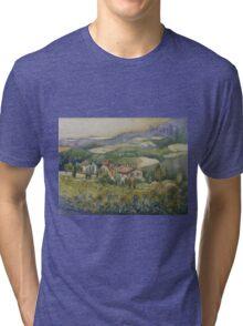 Sunflowers - Tuscany Tri-blend T-Shirt