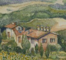 Sunflowers - Tuscany Sticker