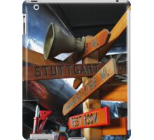 Stuttgart Sign - American Airpower Museum | Farmingdale, New York iPad Case/Skin