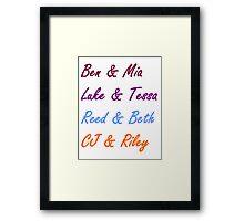Alabama Summer Couples Framed Print