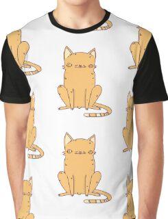 Weird Kitty Graphic T-Shirt