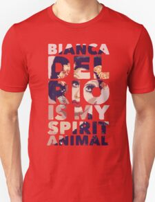 bianca is my spirit animal Unisex T-Shirt