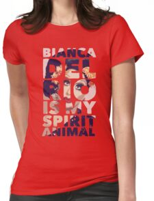 bianca is my spirit animal Womens Fitted T-Shirt
