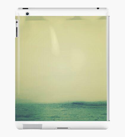 Green Abstract Minimal Landscape  iPad Case/Skin