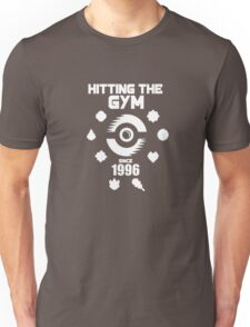 Hitting The Pokemon Gym Unisex T-Shirt