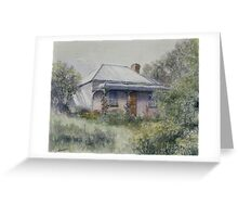 Rose Cottage II - Central West NSW Greeting Card