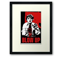 Blow Up - Movie Poster Framed Print