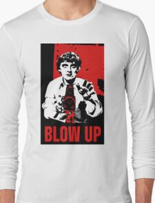Blow Up - Movie Poster Long Sleeve T-Shirt