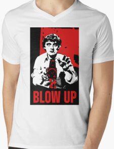 Blow Up - Movie Poster Mens V-Neck T-Shirt