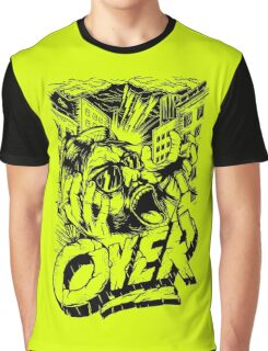 Its Over Funny Men's Tshirt Graphic T-Shirt