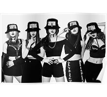 4Minute Crazy Member Kpop Poster