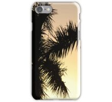 Palm tree in the desert iPhone Case/Skin