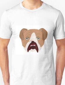 Wrinkley Old Bulldog Unisex T-Shirt