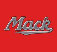 Mack retro chrome Kids Tee