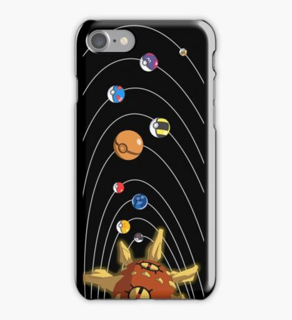 Pokesolar System iPhone Case/Skin