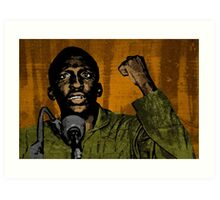 Thomas Sankara-4 Art Print