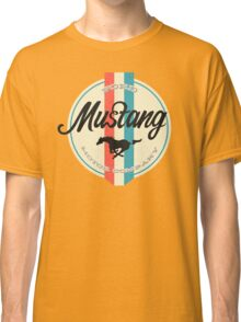 Mustang retro Classic T-Shirt