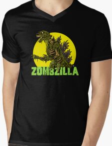 Night of the Living Kaiju Corpses! Mens V-Neck T-Shirt