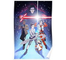 Spring Awakens - New kids in the galaxy Poster