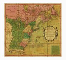 American Revolutionary War Era Maps 1750-1786 351 Bowles's new pocket map of the United States of America the British possessions of Canada Nova Scotia and One Piece - Short Sleeve