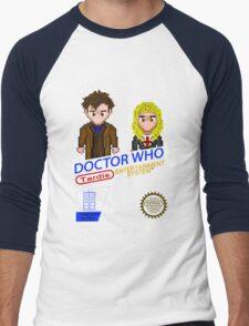 NINTENDO: NES DOCTOR WHO  Men's Baseball ¾ T-Shirt