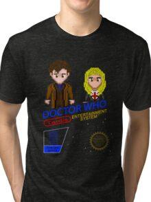 NINTENDO: NES DOCTOR WHO  Tri-blend T-Shirt