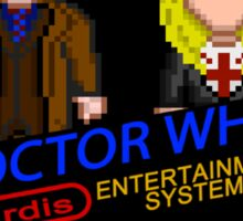NINTENDO: NES DOCTOR WHO  Sticker
