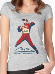 Michael Schumacher Women's Fitted Scoop T-Shirt