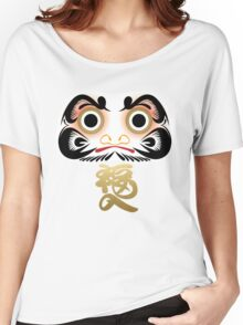 Luck & Good Fortune Daruma Women's Relaxed Fit T-Shirt
