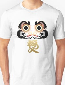 Luck & Good Fortune Daruma Unisex T-Shirt