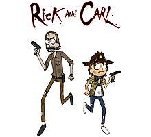 Rick and Carl Photographic Print