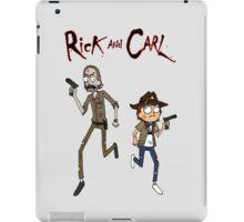 Rick and Carl iPad Case/Skin